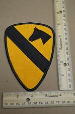 US Army 1st Cavalry Division Full Color, Shoulder,  Embroidered Unit Patch