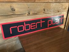 Vintage Robert Plant Pictures At Eleven 1982 Record Store Diplay Sign Zeppelin