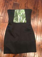 Kate Spade Saturday Black Scuba Strapless Tube Dress, Size 10