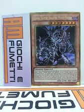 GRAPHA SIGNORE DRAGO DEL MONDO OSCURO  in italiano RARA GOLD YUGIOH