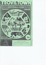 Past Domestic Leagues Reserves Teams S-Z Football Programmes