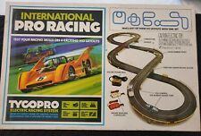 Tyco Pro Electric Racing System - International Pro Racing Set with box