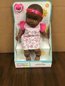 "Honestly Cute My Sweet Baby AA Baby Doll 14""H New"