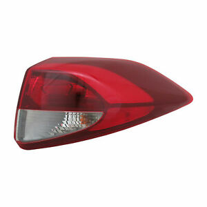 FIT FOR TUCSON 2016 2017 2018 REAR TAIL LAMP OUTER W/O LED RIGHT PASSENGER