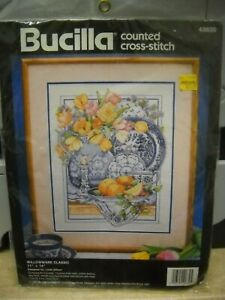 Bucilla Counted Cross Stitch Kit - Willowware Classic - Unopened