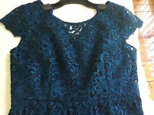 ANTHEA CRAWFORD  Gorgeous New  Lace Mother Of The Bride Dress Size 12