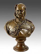 Militaria Bronzebüste Kaiser Wilhelm I. von Preussen, signiert