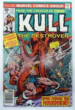 kull the destroyer 17 marvel 1975