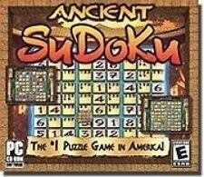 Ancient Sudoku (Joyaux Coque) ( JEU PC ) nouveau scellé