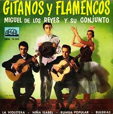 EP MIGUEL DE LOS REYES Y SU CONJUNTO la violetera SPAIN 1961 bulerias 45