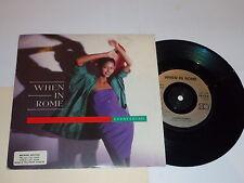 """Cuando en Roma-todo - 1988 Reino Unido 2-track 7"""" SINGLE"""
