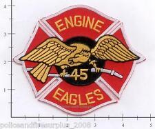 New York City NY Fire Dept Engine 45 Patch v2