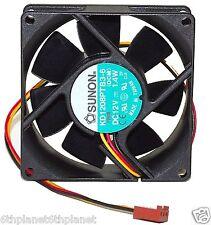 Sunon 80mm x 25mm 12v 1.4w 3 Pin Case Fan KD1208PTB3-6