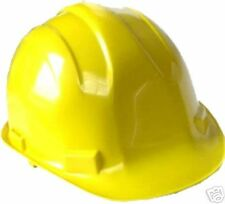 4 PC LOT YELLOW CONSTRUCTION SAFETY HARD HATS NEW!!!