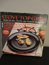 ROYAL CHEF STOVE TOP NON STICK GRILL WORK ON GAS ELECTRIC  AND PROPANE RANGE TOP