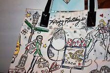 "Brighton ""Happy City Tote"" w/ cosmetic pouch NWT"
