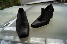 TAMARIS Duo Tex Damen Schuhe Pumps Gr.37 schwarz Leder Absatz schick #7