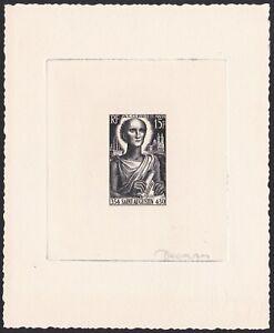 Algeria Sc261 St. Augustine Birth 1600th Anniversary, Signed Die Proof