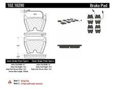 Disc Brake Pad Set-C-TEK Metallic Brake Pads Front Centric 102.10290