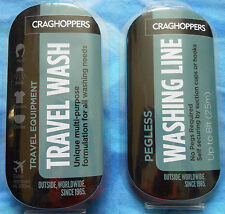 Craghoppers Travel Wash & No Pegs Washing Line