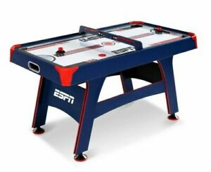 """Air Hockey Table, Overhead Electronic Scorer, Blue/Red, 60"""" size"""