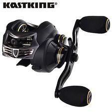 New KastKing 12BB Ball Bearing 7.0:1 Stealth Left Hand Baitcasting Fishing Reel