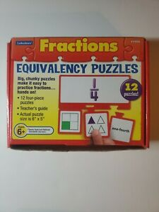Lakeshore FRACTIONS Equivalency Puzzles practice fractions