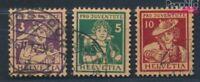 Schweiz 130-132 gestempelt 1916 Pro Juventute (8618750