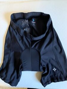"""SPECIALIZED WOMEN'S COMP 6-PANEL BIKE SHORT 9"""" Ins Padded Cycling sz small"""