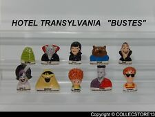 SERIE COMPLETE DE FEVES HOTEL TRANSYLVANIA BUSTES 2019