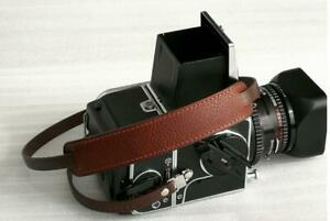 Leather Neck Shoulder Strap for Hasselblad 500/200/1000/2000 Series Black Brown