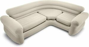 Intex Inflatable Corner Sofa Couch, Camping Seats 5 Person Seating Furniture New