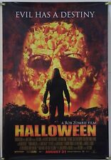 HALLOWEEN DS ROLLED ORIG 1SH MOVIE POSTER ROB ZOMBIE MALCOLM MCDOWELL (2007)