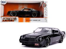 Jada 1:24 BigTime Muscle 1979 Chevrolet Camaro Z28 Diecast Model Car Black 31584