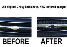 BLACK Front Grille Bowtie Emblem Badge Replaces 12335633 fits 1999-2006 Chevy