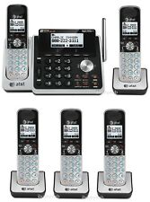 AT&T TL88102 DECT 6.0 2 Line 5 Cordless Phones w/ Answering System NEW