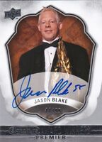 Jason Blake 17/18 UD Premier Collection Award Winners Signature /99