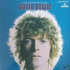 David Bowie - Man Of Words / Man Of Music blue vinyl - rare Groningen new neu