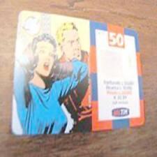 ricarica TIM Flash Gordon Dale 50000 lire FEBBRAIO 2002