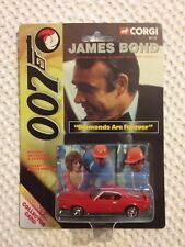 Corgi - James Bond - 99725 Diamonds Are Forever- Ford Mustang - Mint on Card