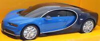 Rastar 1/24 Scale Radio Control Car 76100 - Bugatti Chiron - Blue/Black