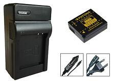 Patona Akku + Ladegerät für Panasonic Lumix DMC-TZ80 / DMC-TZ81 - DMW-BLG10-E
