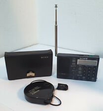SONY ICF-SW1 Weltempfänger Radio + Sony AN 71 Kompaktantenne + Etui