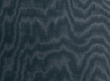 Zinc Textiles Printed Moire Upholstery Fabric - Jacopo Midnight 1.10 yd Z370/12