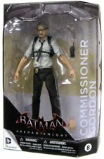 DC COLLECTIBLES BATMAN ARKHAM KNIGHT COMMISSIONER GORDON FIGURE #8