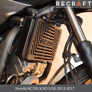 Black Arashi Radiator Grille Guard Protective Cover For HONDA NC700 NC750 S//X//N