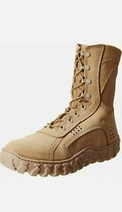 "Rocky S2V Steel Toe Military Boots 8"" (6104) Coyote Brown Army OCP / Navy NWU"