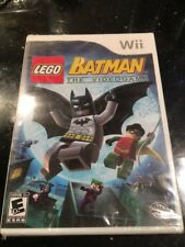 LEGO Batman: The Videogame (Nintendo Wii Brand New Factory Sealed