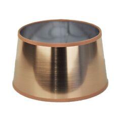 Lampenschirm für Tischleuchte in Rund Lack Kupfer Gold TL 25-20-14