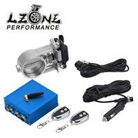 "2.5""/63mm Vacuum Exhaust Cutout Electric Control Valve Kit With Vacuum Pump"